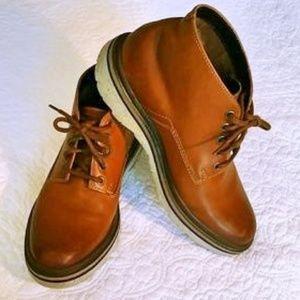 Clarks Leather Mid Chukka Boot